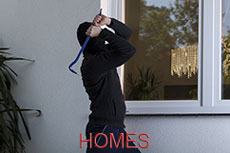 Domestic glass safety film